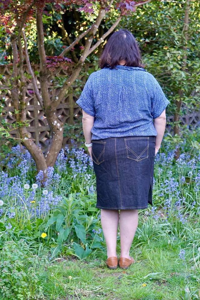 Itch to Stitch Danube Jean Skirt PDF Sewing Pattern