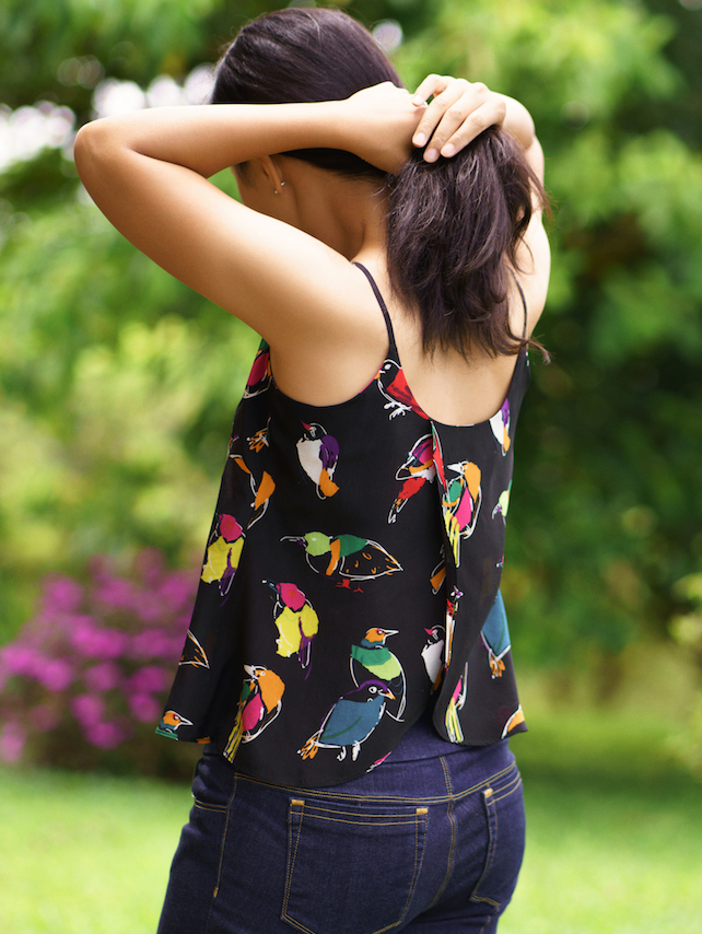Itch to Stitch Crystal Cove Cami PDF Sewing Pattern