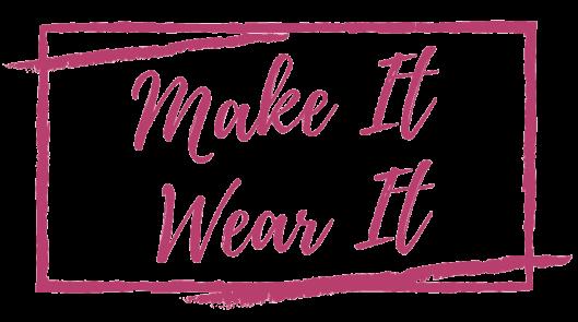 Itch to Stitch Make It Wear It Blog Series