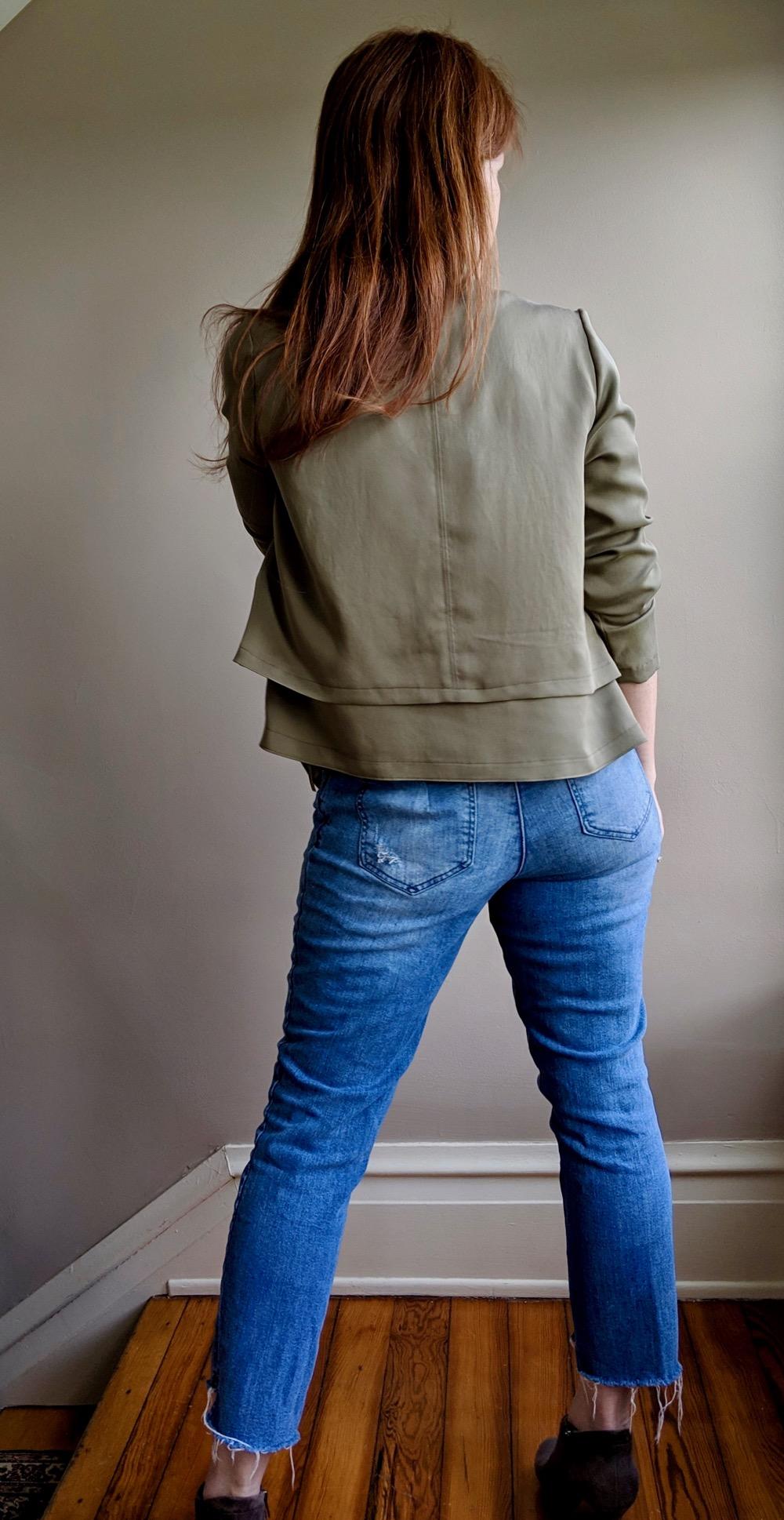 Itch to Stitch Make It Wear It Joni Hvar Jacket Back Full