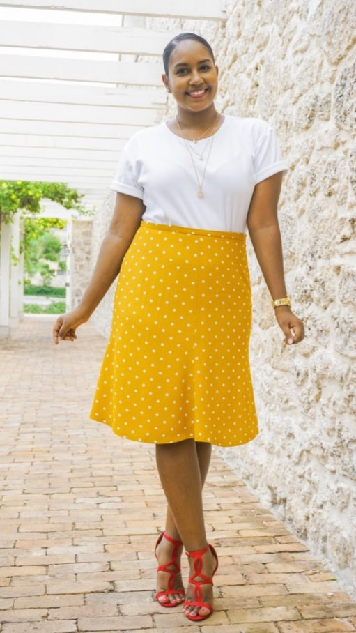Itch to Stitch Seville Skirt PDF Sewing Pattern