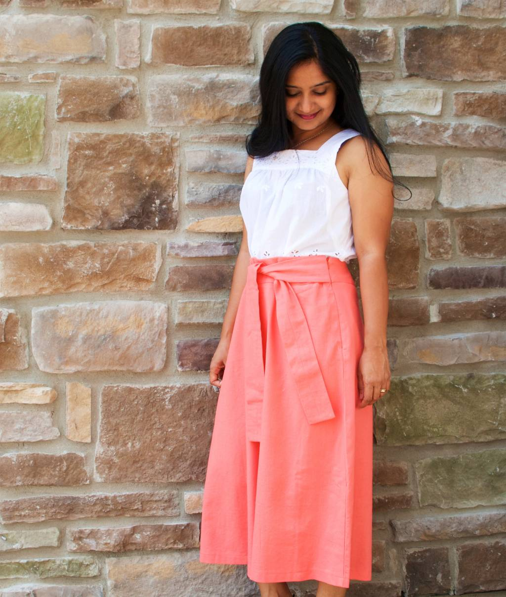 Itch to Stitch Make It Wear It Indu Chirripo & Emily Culottes