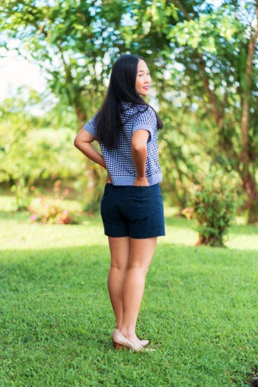 Itch to Stitch Hermosa Shorts PDF Sewing Pattern Short Length 2