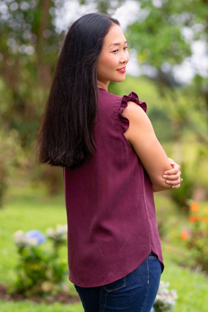 Itch to Stitch Kauai Top PDF Sewing Pattern