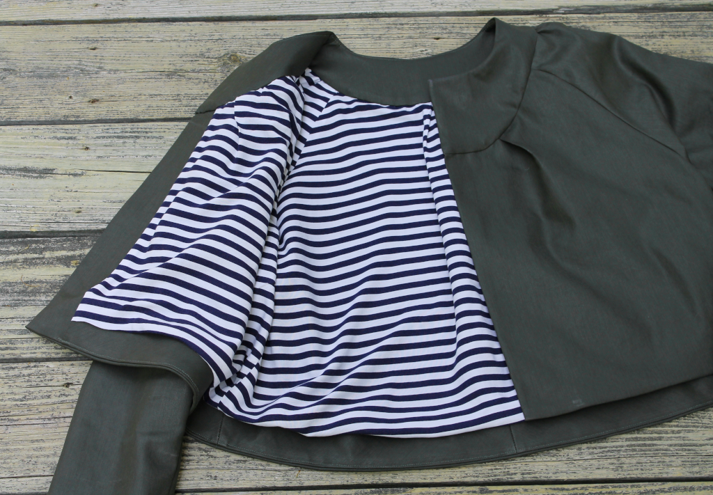 Itch to Stitch Dana Point Top + Salamanca Jacket—Make It Wear It—Ajaire