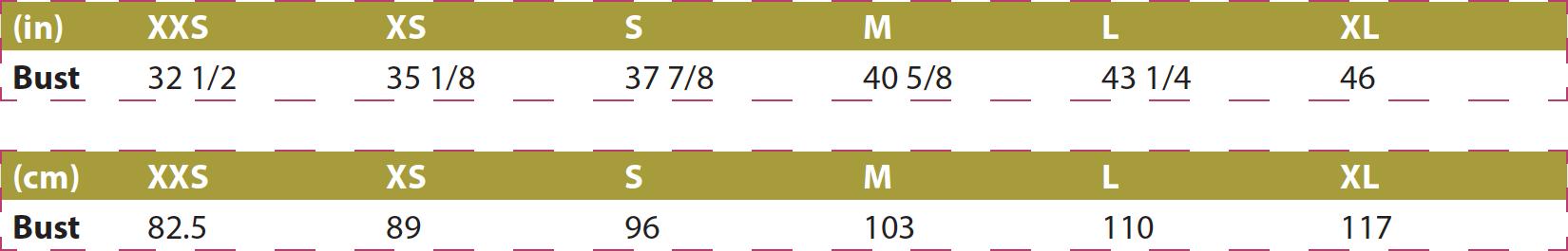 Cape Cod Capelet PDF Sewing Pattern Body Measurements