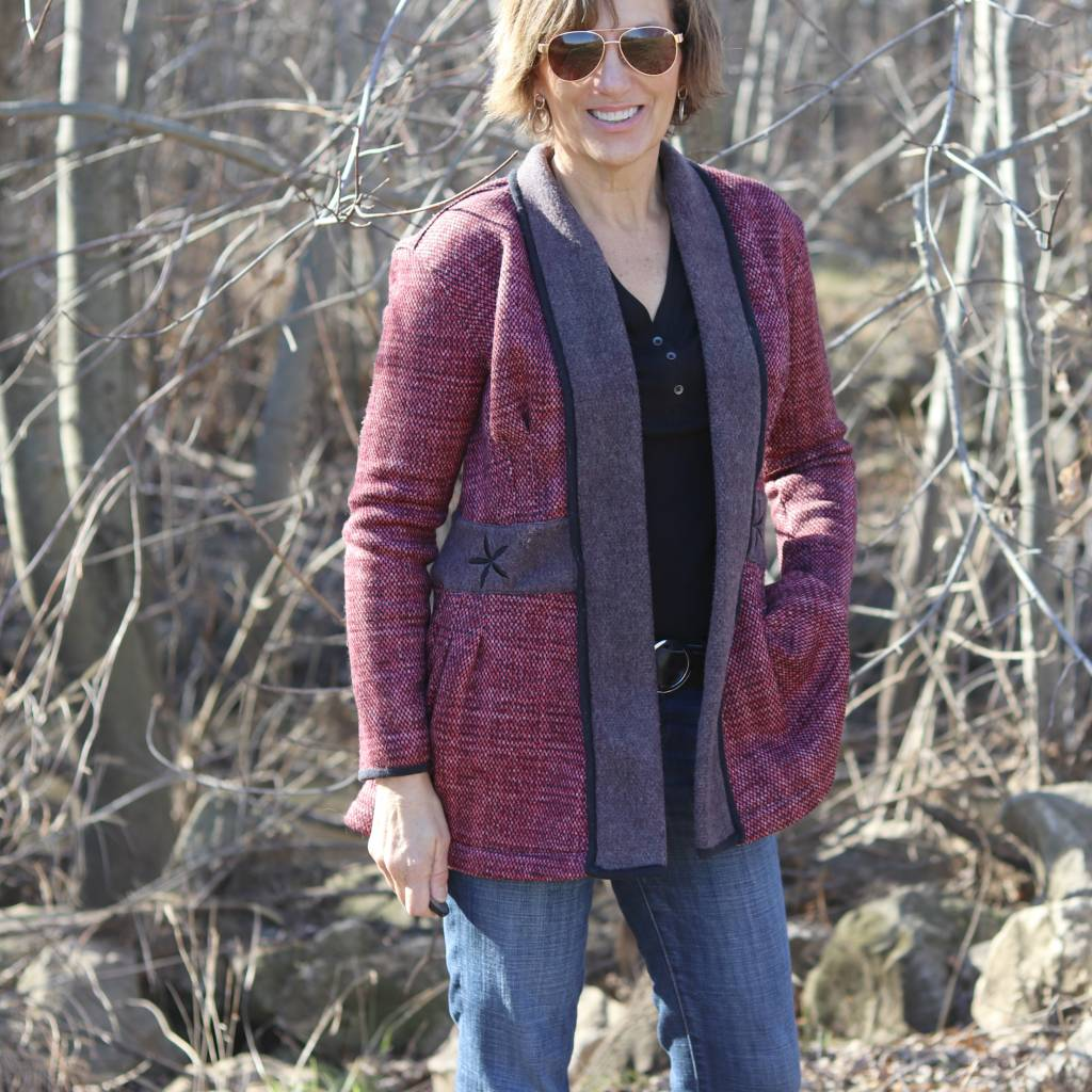 Itch to Stitch Paro Cardigan by Lori Make It Wear It