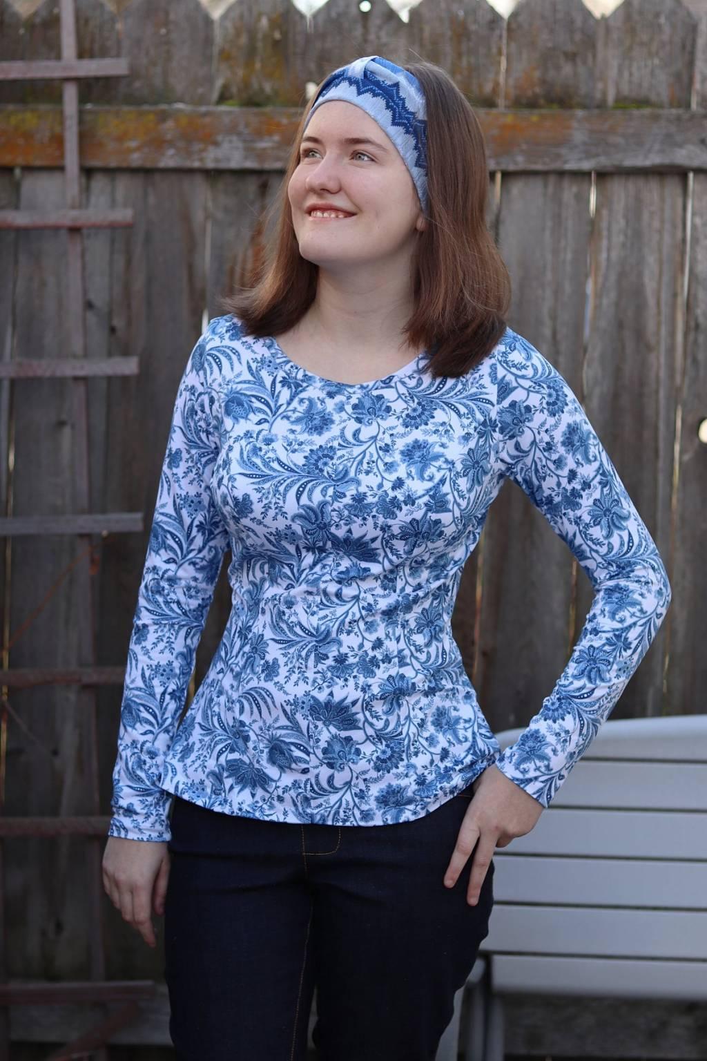 Itch to Stitch Tallinn Top & Dress Dress Sewing Pattern
