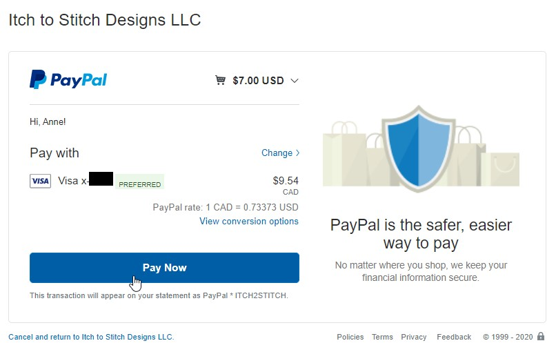 How to buy, download & assemble PDF patterns—Pay by PayPal