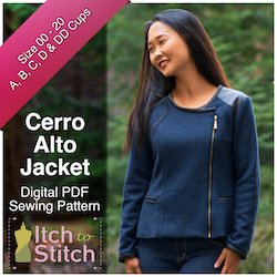 Cerro Alto Jacket PDF Sewing Pattern