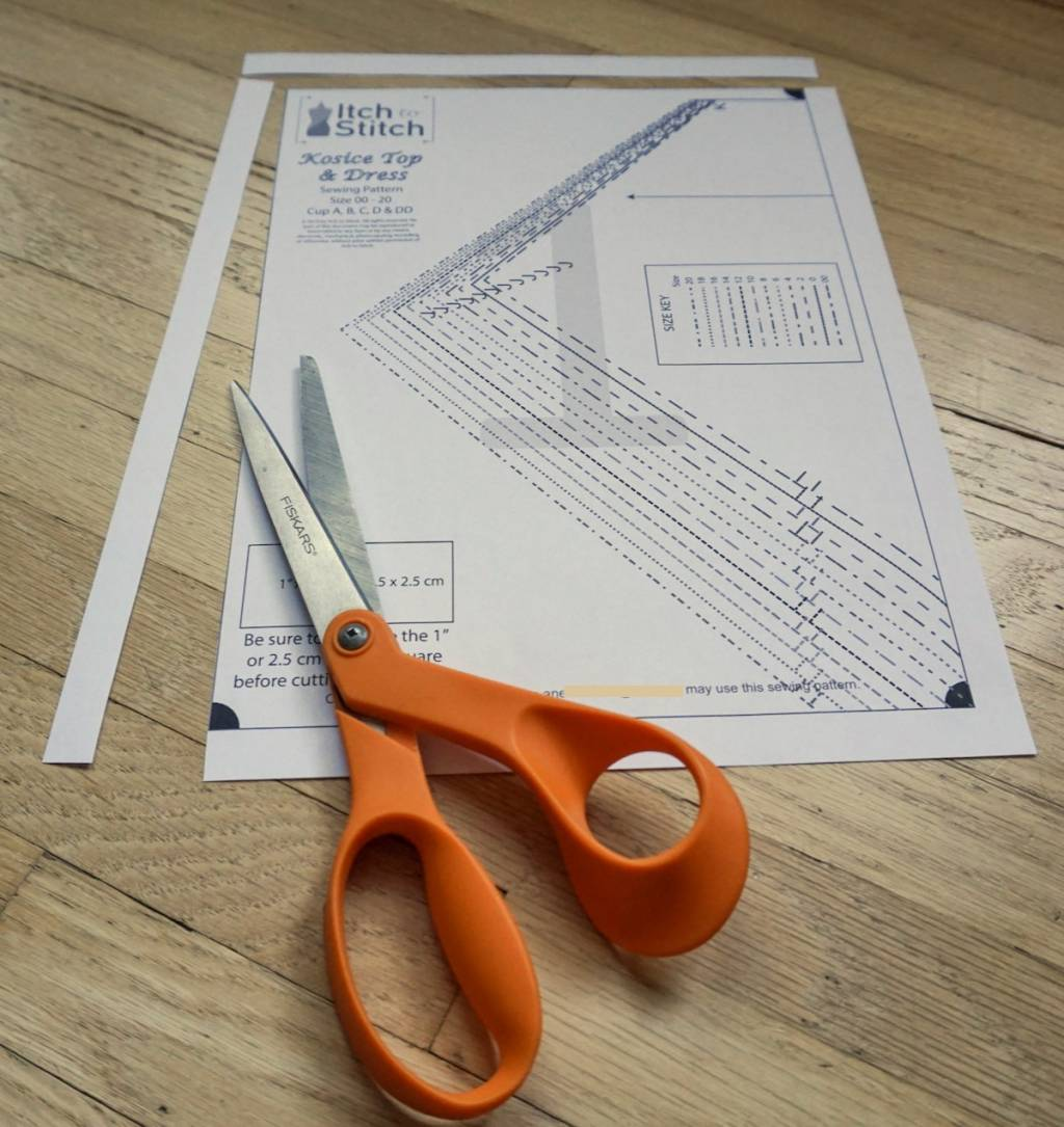 How to buy, download & assemble PDF patterns—Assembling
