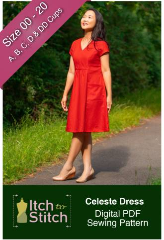 Itch to Stitch Celeste Dress PDF Sewing Pattern
