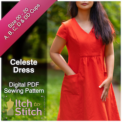 Celeste Dress PDF Sewing Pattern