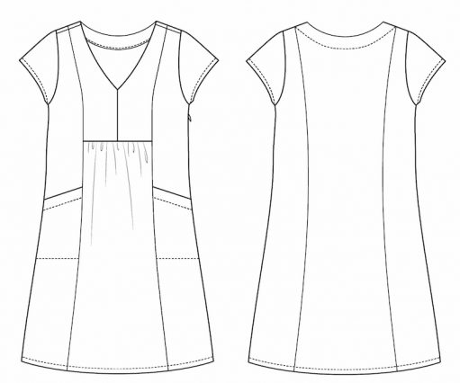 Itch to Stitch Celeste Dress Instructions