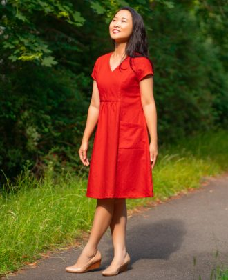 Itch to Stitch Celeste Dress PDF Sewing Pattern