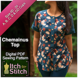 Chemainus Top PDF Sewing Pattern