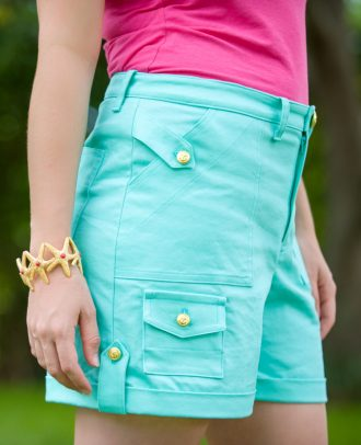 Itch to Stitch Angelia Shorts PDF Sewing Pattern