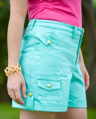 Itch to Stitch Angelia Shorts PDF Sewing Pattern
