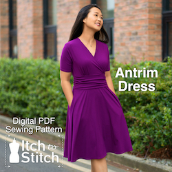 Antrim Dress PDF Sewing Pattern