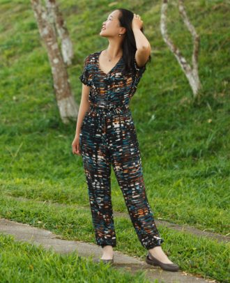 Itch to Stitch Anza Jumpsuit and Dress PDF Sewing Pattern