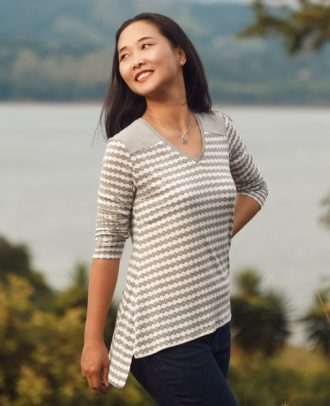 Itch to Stitch Arenal Top PDF Sewing Pattern