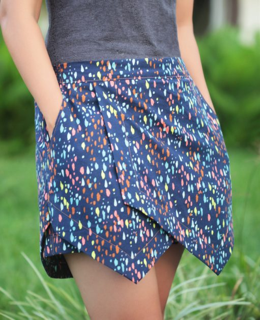 Itch to Stitch Belize Shorts and Skort PDF Sewing Pattern