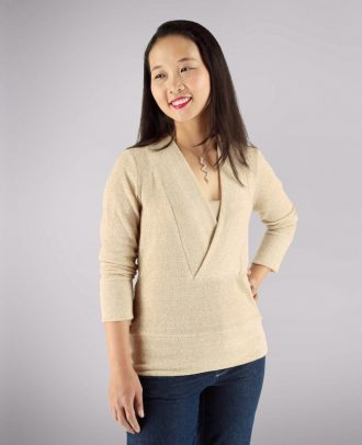 Itch to Stitch Irena Knit Top PDF Sewing Pattern