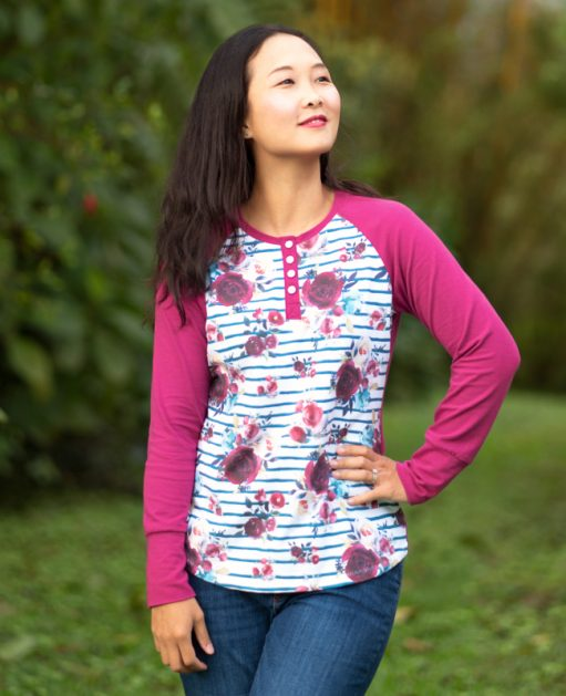 Itch to Stitch Visby Henley and Top PDF Sewing Pattern
