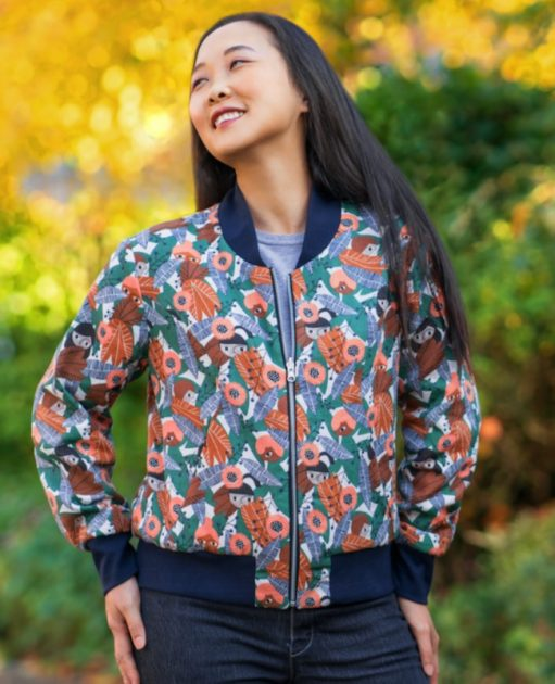 Itch to Stitch Causeway Bomber Jacket PDF Sewing Pattern