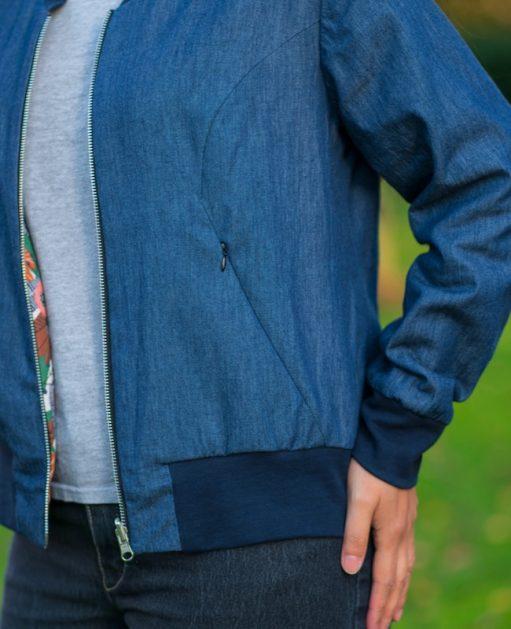 Itch to Stitch Causeway Bomber Jacket PDF Sewing Pattern