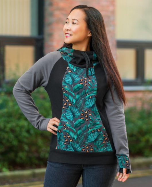 Itch to Stitch Lamma Hoodie & Sweatshirt PDF Sewing Pattern