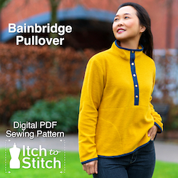 Bainbridge Pullover PDF Sewing Pattern