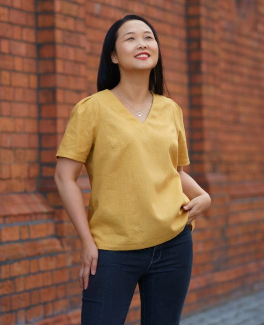 Itch to Stitch Seychelles Top PDF Sewing Pattern