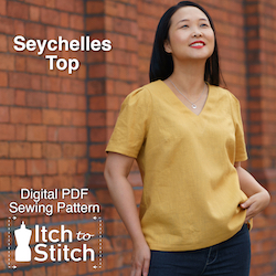 Seychelles Top PDF Sewing Pattern