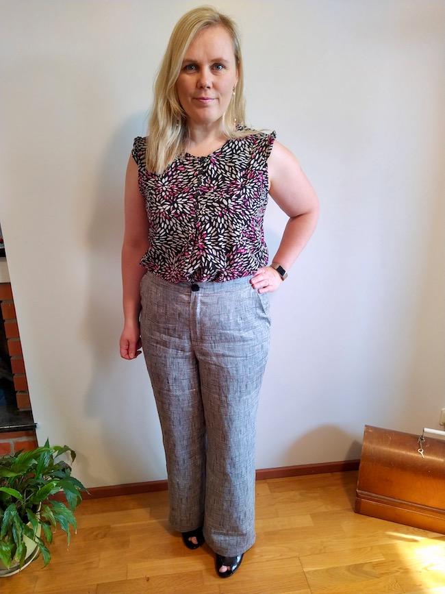 Itch to Stitch Upland Trousers PDF Sewing Pattern