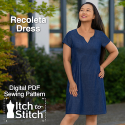 Recoleta Dress PDF Sewing Pattern