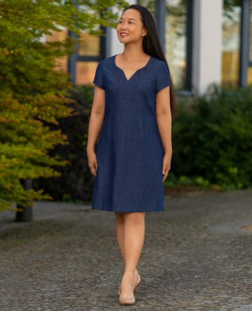 Itch to Stitch Recoleta Dress PDF Sewing Pattern