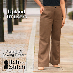 Upland Trousers PDF Sewing Pattern
