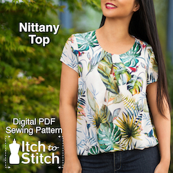 Nittany Top PDF Sewing Pattern