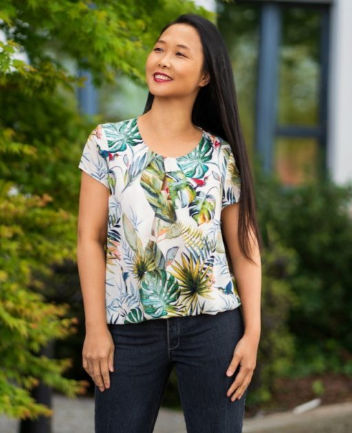Itch to Stitch Nittany Top PDF Sewing Pattern