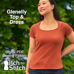 Glenelly Top & Dress PDF Sewing Pattern