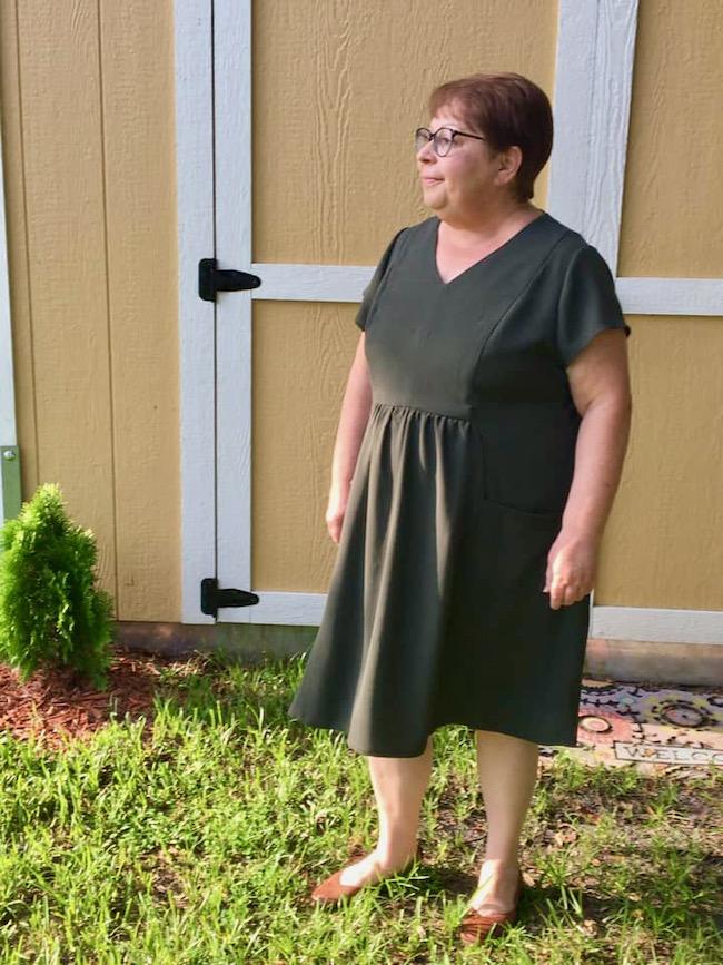 Itch to Stitch Celeste Dress PDF Sewing Pattern (Expanded Sizes)