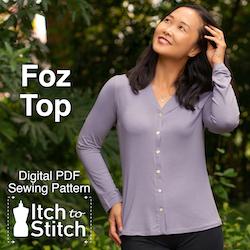 Foz Top PDF Sewing Pattern