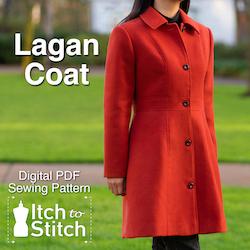 Lagan Coat PDF Sewing Pattern
