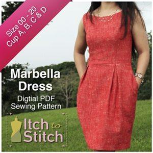 MarbellaDressPDFSewingPattern300x300